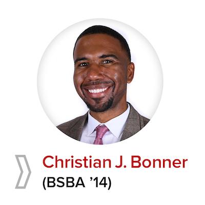Christian J. Bonner (BSBA '14)