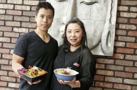 Tom Chang and Jia Kirsten Cheng