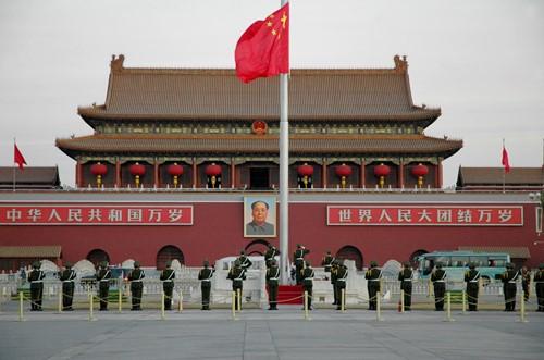 Beijing Flag Ceremony