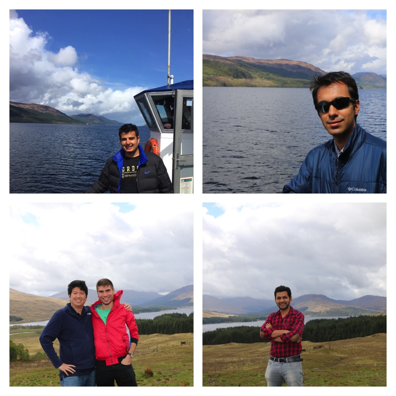 Loch Ness and the Team