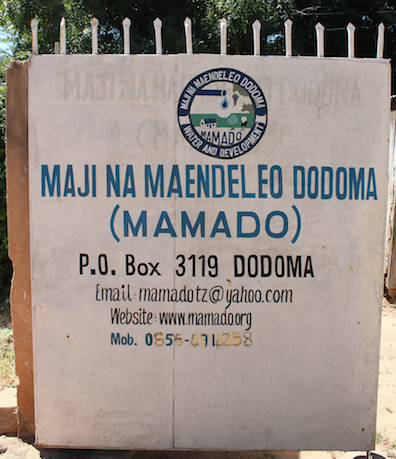 The unnamed NGO, Maji Na Maendeleo Dodoma.