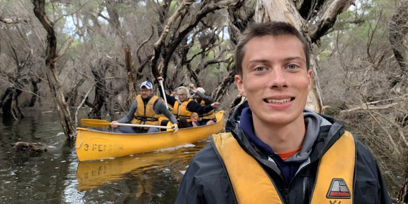 Me Canoeing on the Margaret River