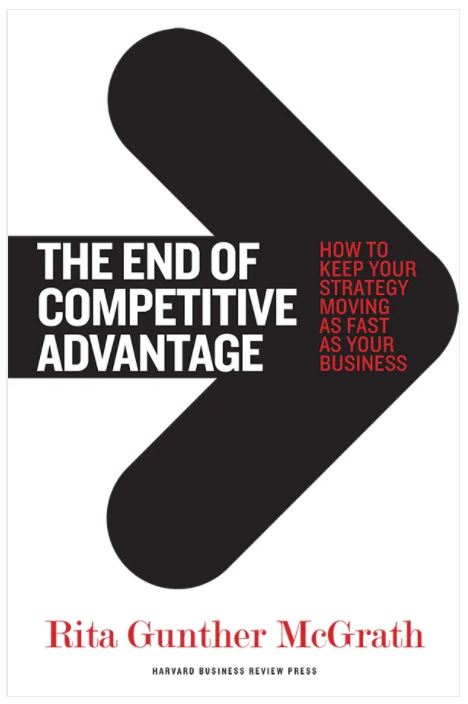 End of Competitive Advantage Book Cover