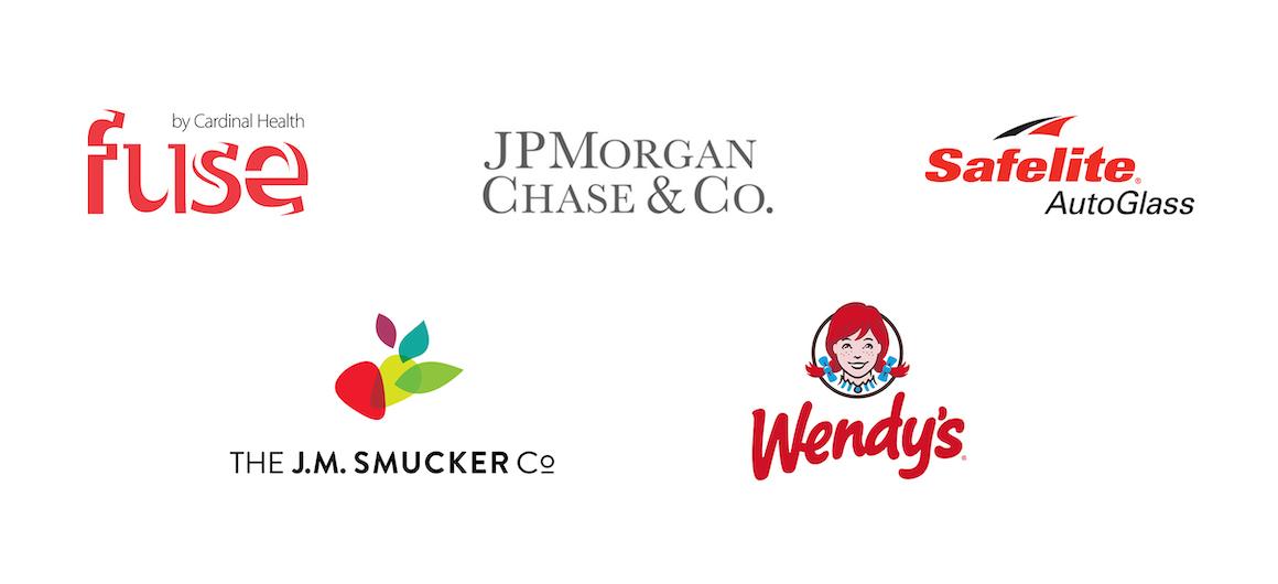 Founding Members: Fuse, J.P. Morgan Chase, Safelite Auto Glass, J.M Smucker, Wendy's