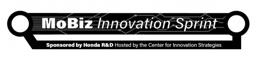 MoBiz Innovation Sprint Header