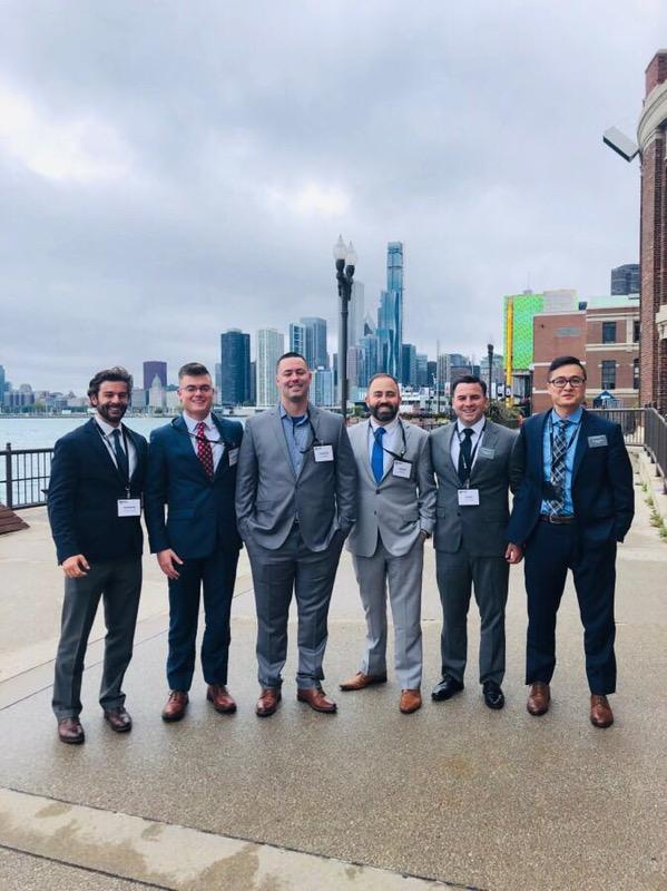 MBA Students at the 2019 Veterans Conference
