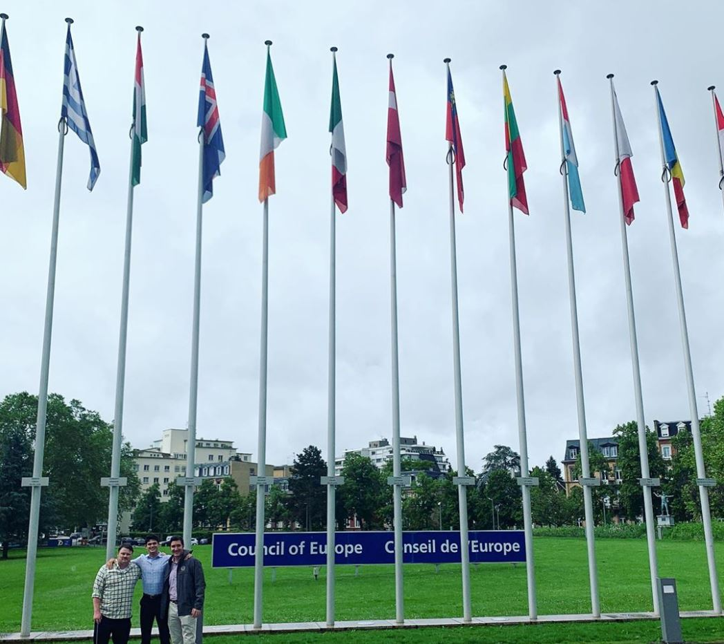 Summer Strasbourg at Council of Europe