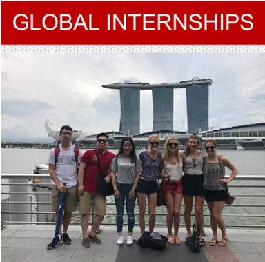 Work in a global internship for 8-14 weeks, during a summer or a semester.