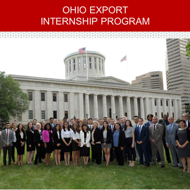 Work in a 12-week summer internship and make a global impact for an Ohio company by expanding Ohio exports.