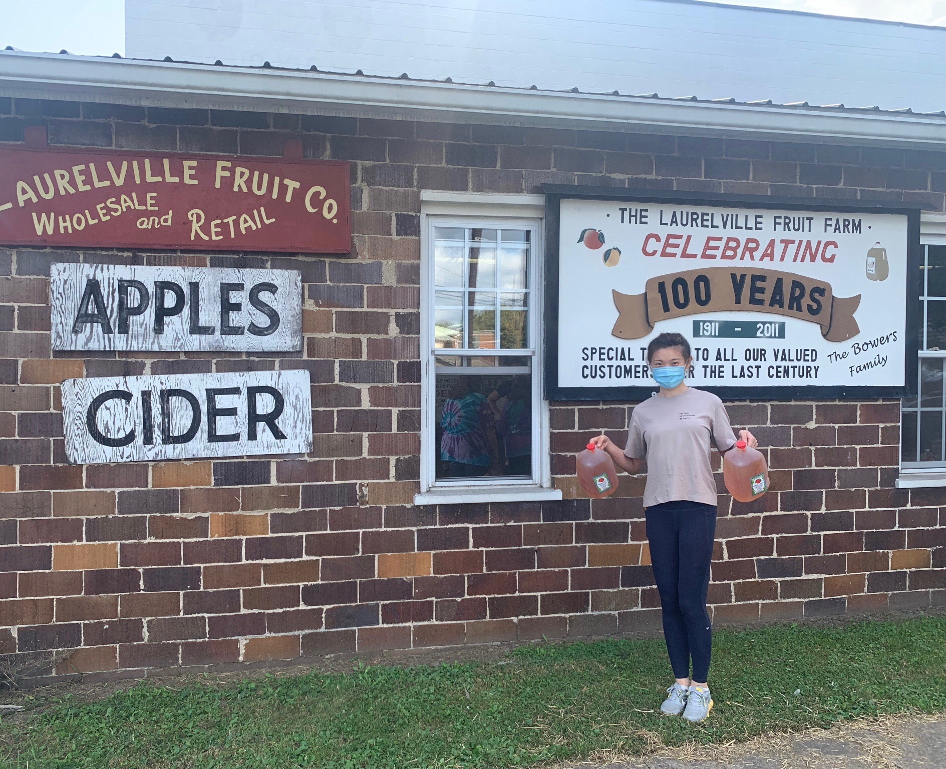 Laurelville  Fruit Co. at Hocking Hills