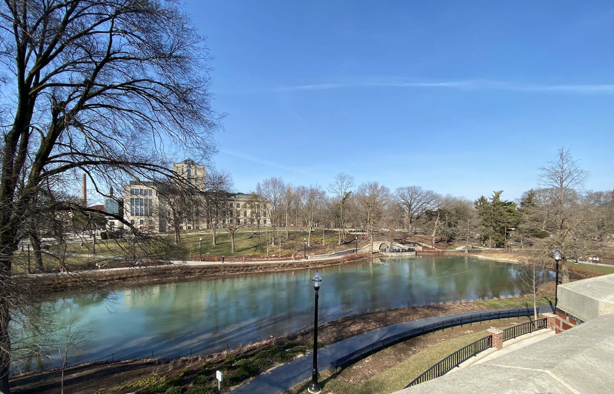 Mirror Lake in March