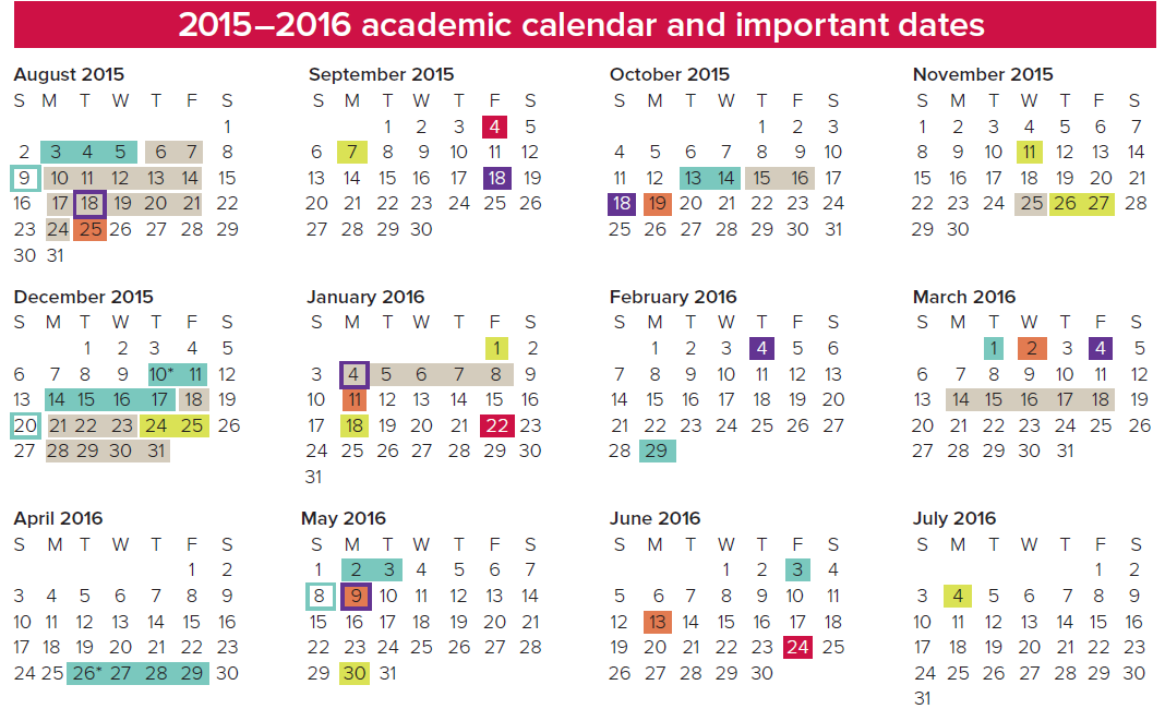 Ohio State 2021 Academic Calendar Photos
