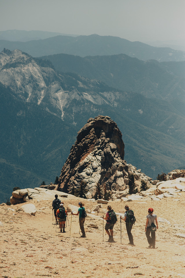 backpacking, Ohio State, High Sierras
