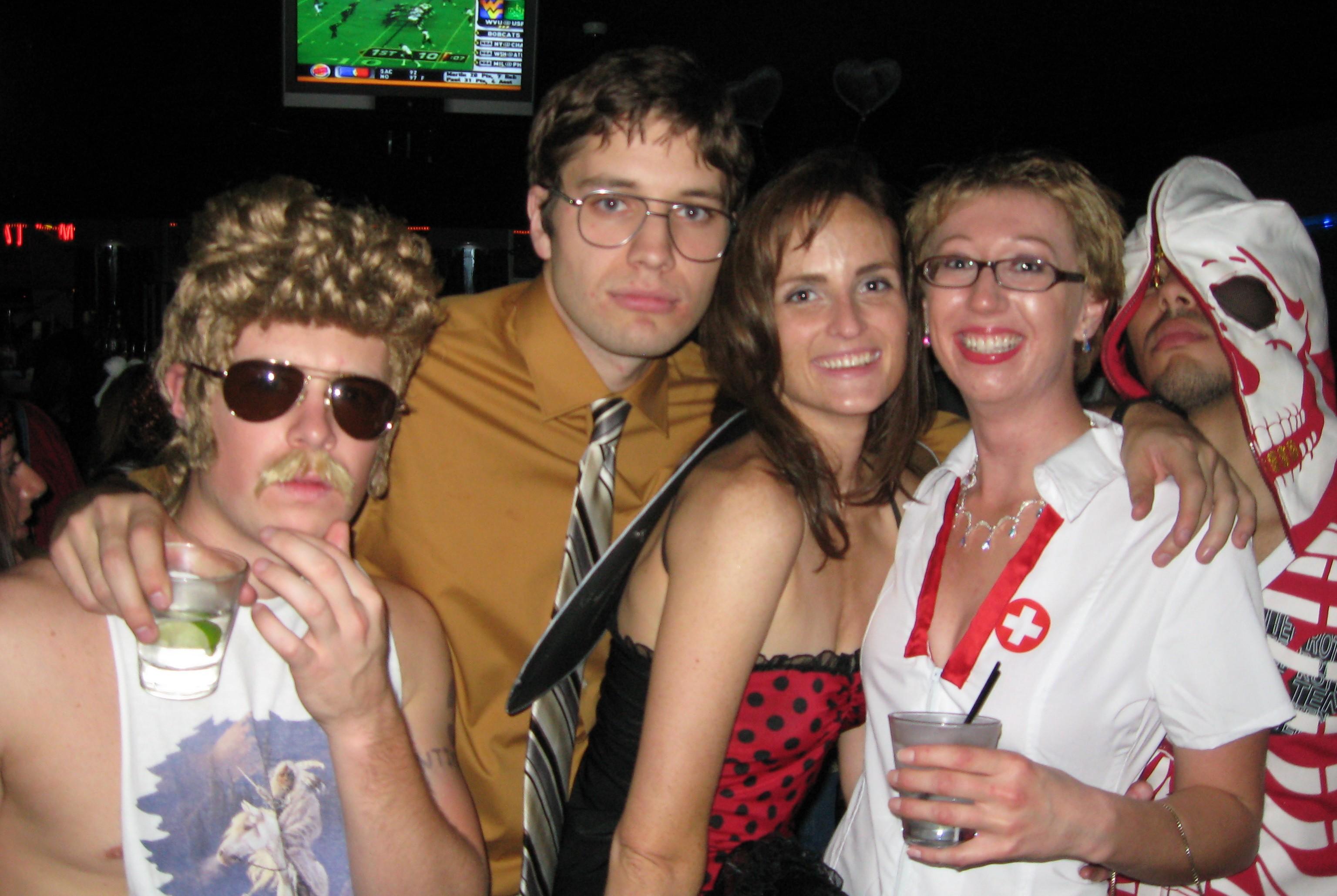 Andrew, Sam, Erin, myself and Anthony