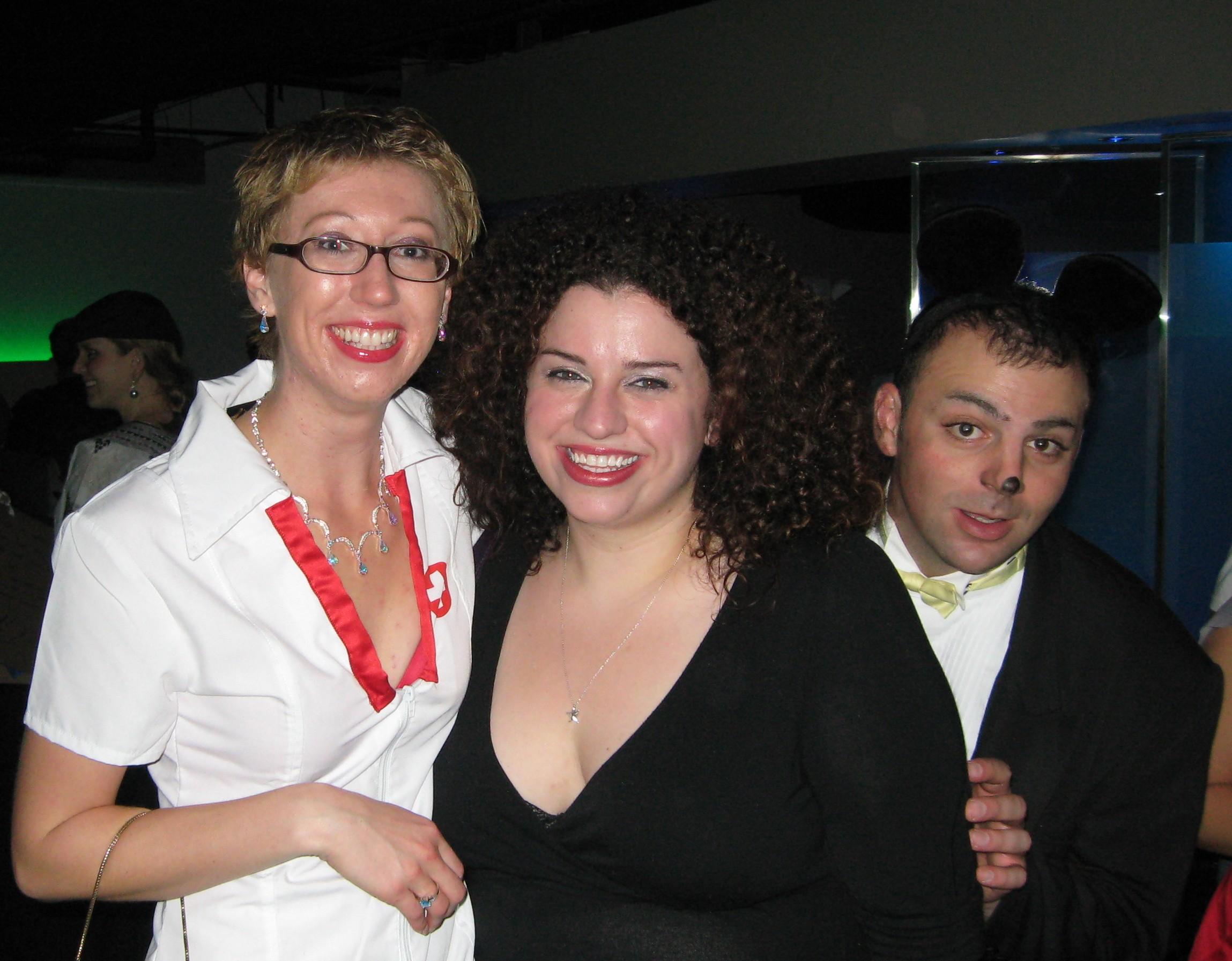 Myself, Maria and Aaron