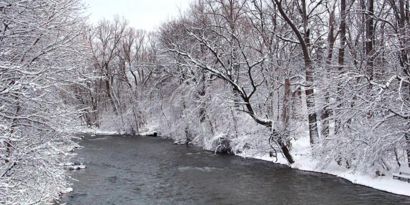 Winter in Ohio!