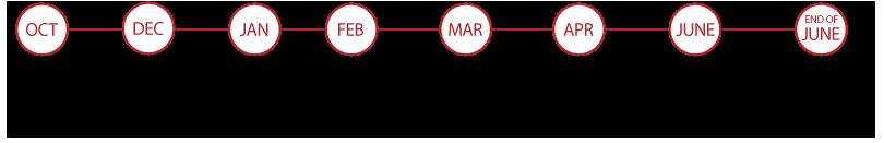 SMB-A Analytics Management Capstone Timeline
