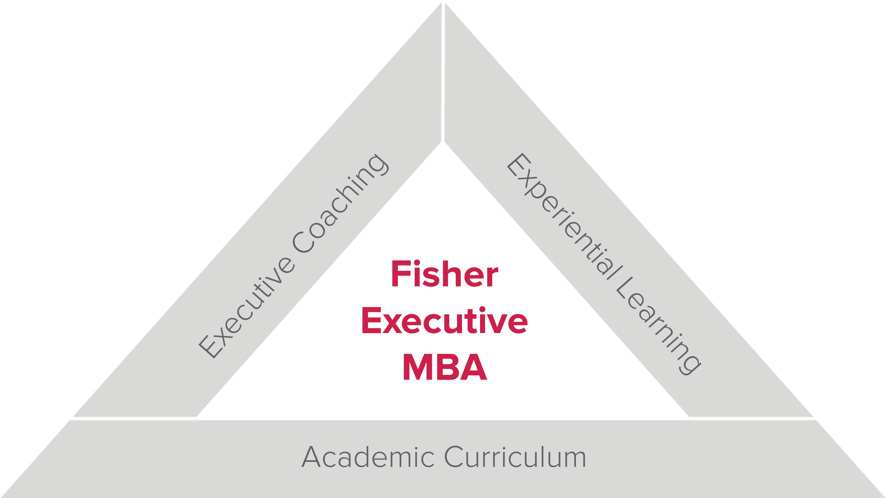 Fisher Executive MBA triad