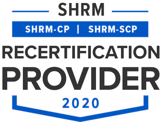 Society for Human Resource Management Recertification Provider logo