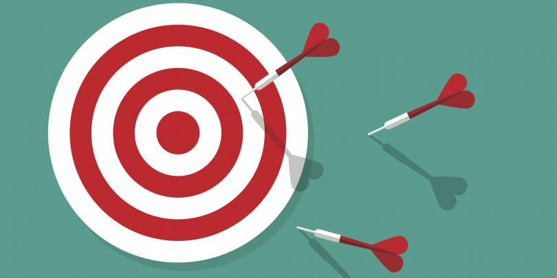 darts missed on target