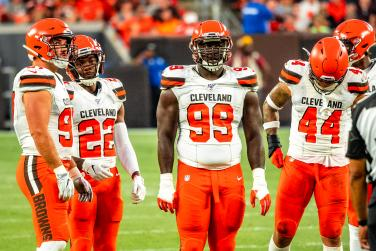 Cleveland Browns players