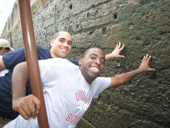 Brandon Smith and Howard Patton Panama 2
