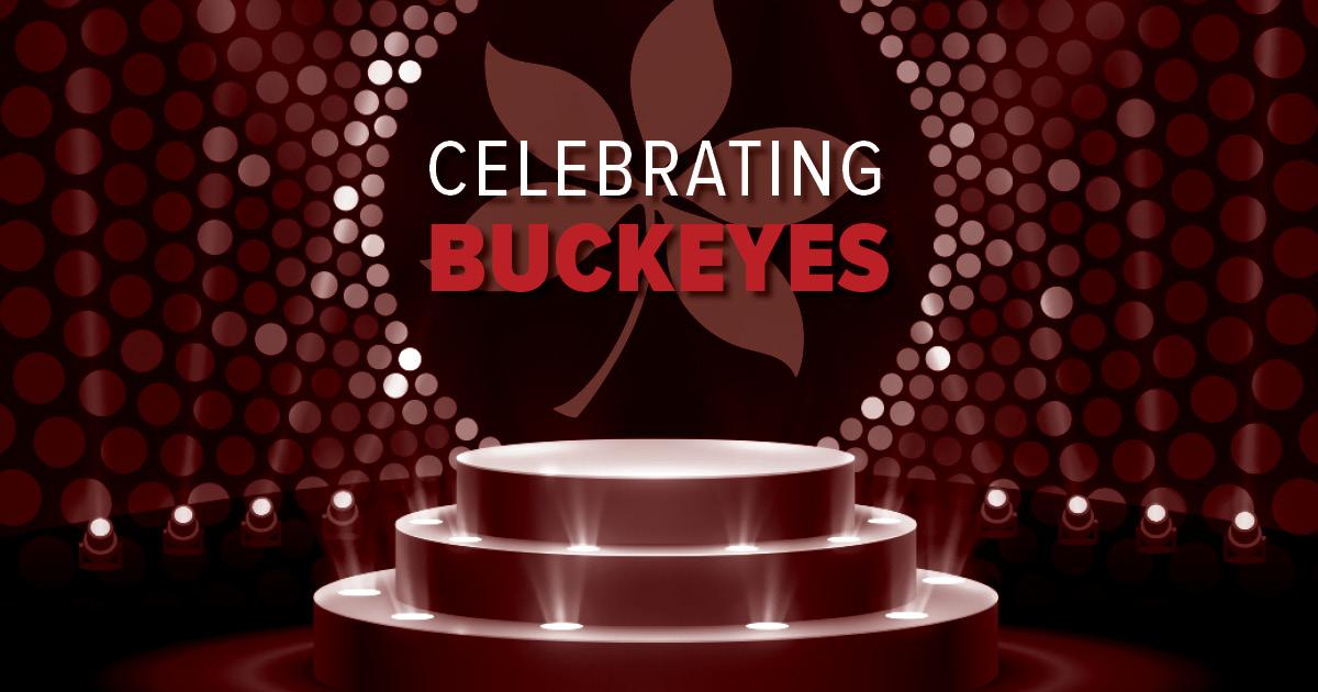 Celebrating Buckeyes logo