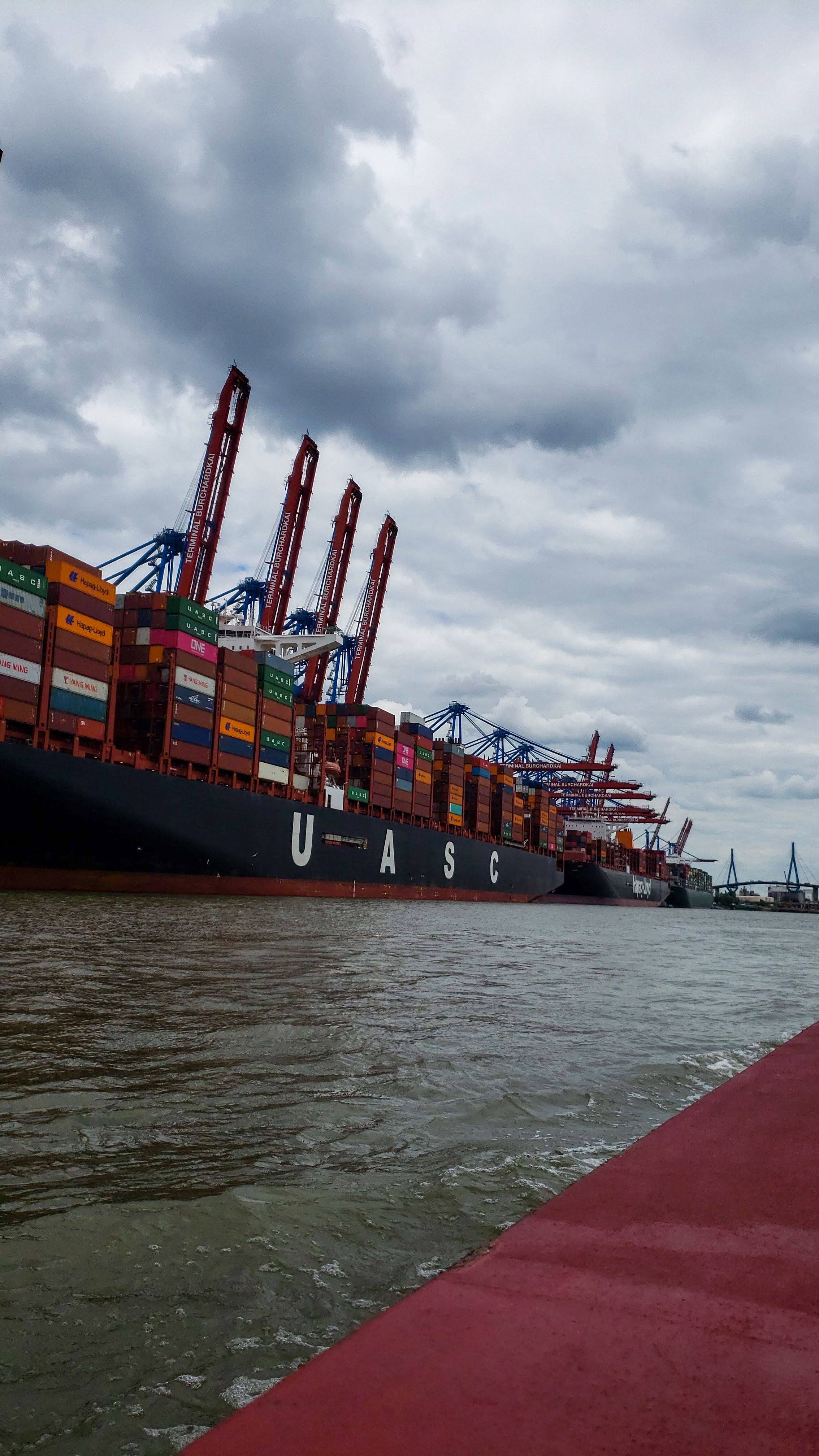 Photo of European shipping containers