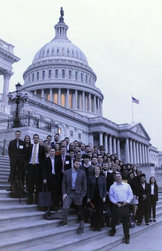 MAcc students at the Washington Campus