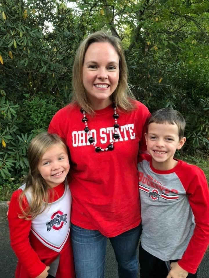 Dawn Lyons and her children, Maddie and Tyler