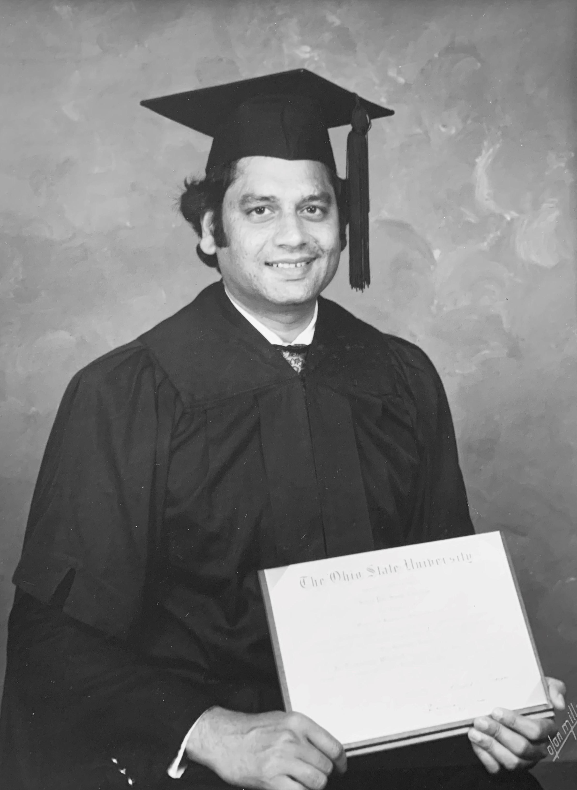 Satya Chauhan graduation