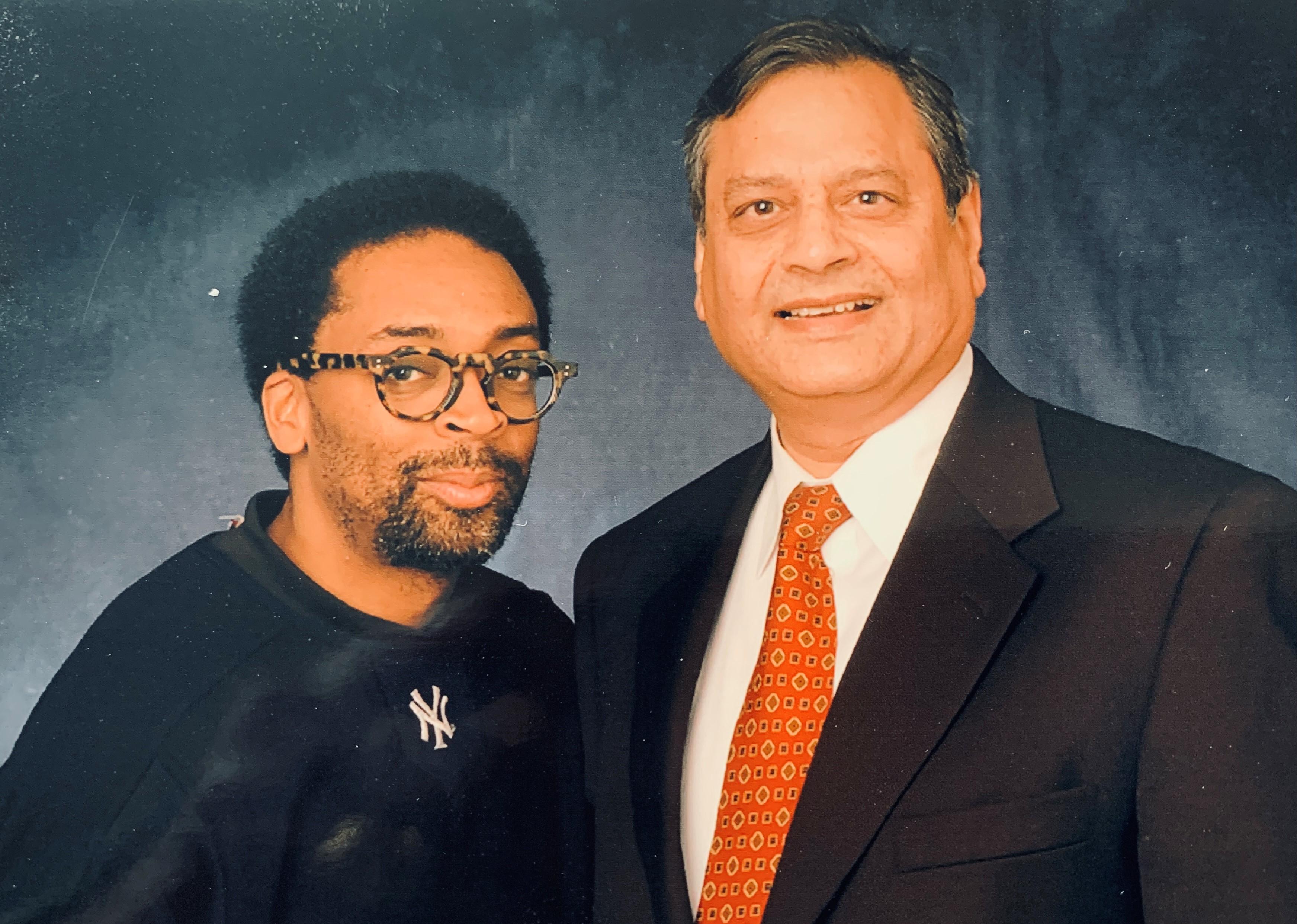Satya Chauhan and Spike Lee