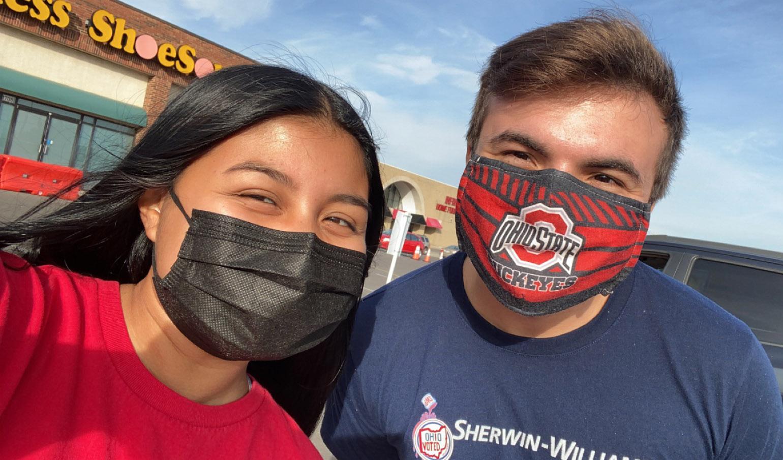 Selena Alvarado and a friend
