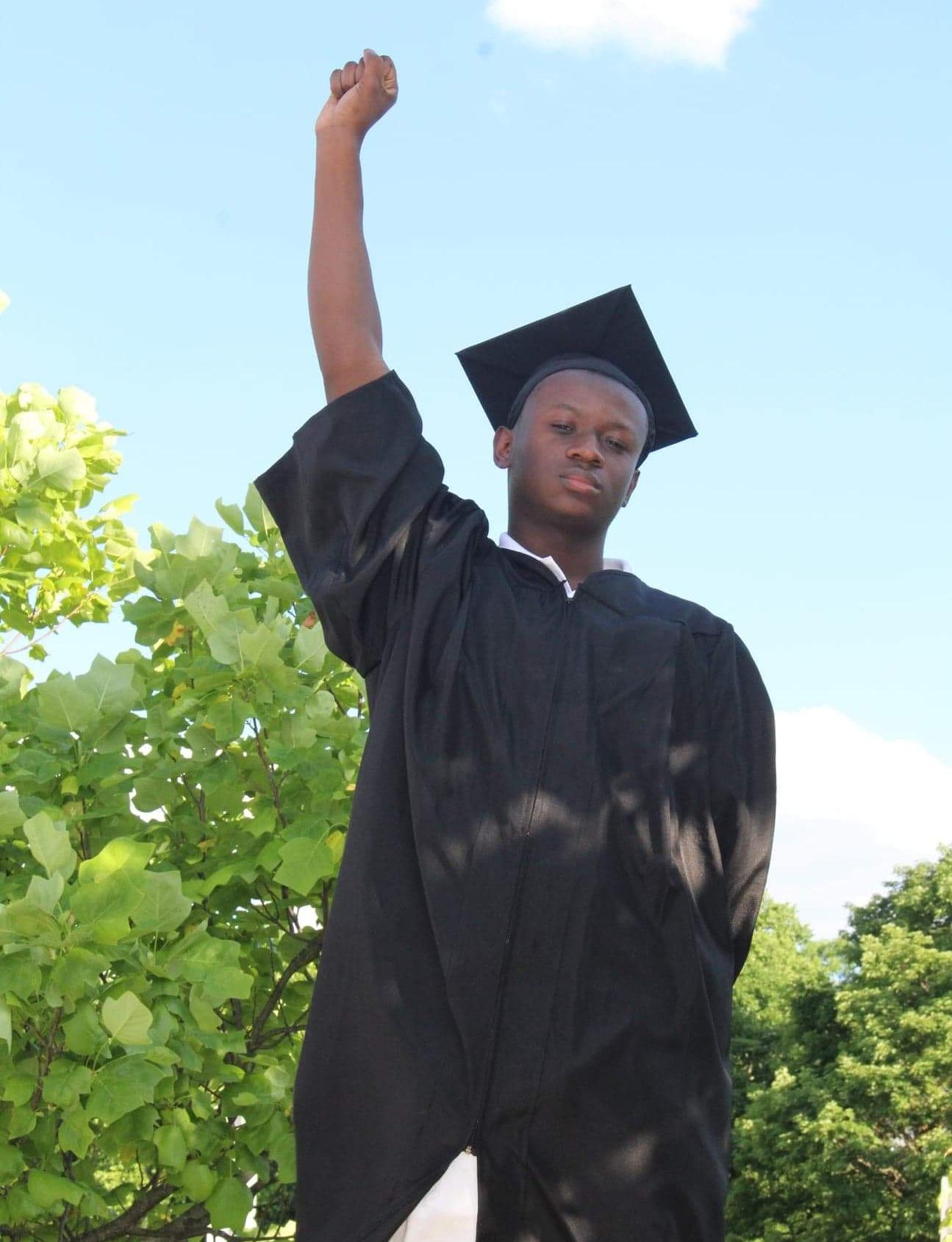 Lashawn Samuel graduation