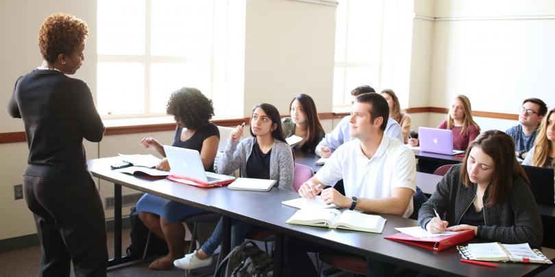 Fisher College of Business classroom
