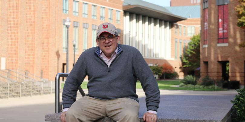 Portrait of Corky Kessler on Fisher's campus