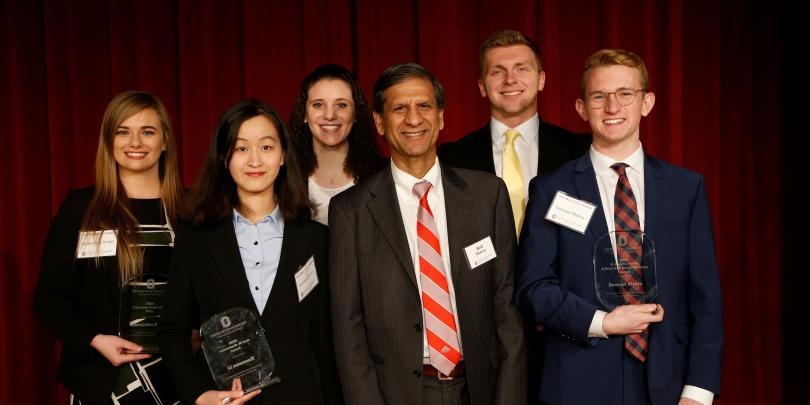 2020 Student Pace Setter Award winners