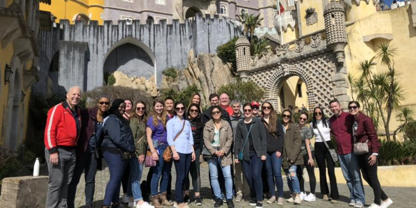Fisher students in Portugal
