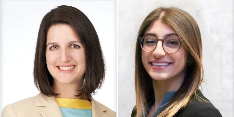Nicole Balkenbusch and Selin Yenibahar