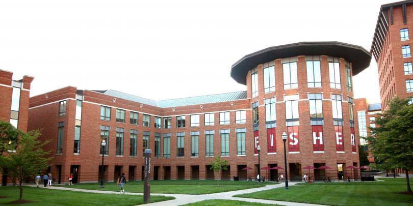 Fisher campus shot