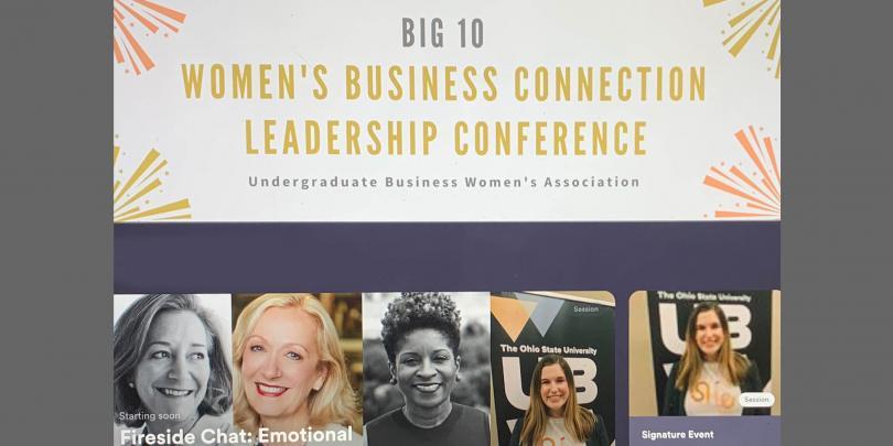 UBWA Women's Conference screengrab