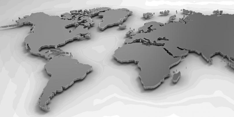 3D model of world