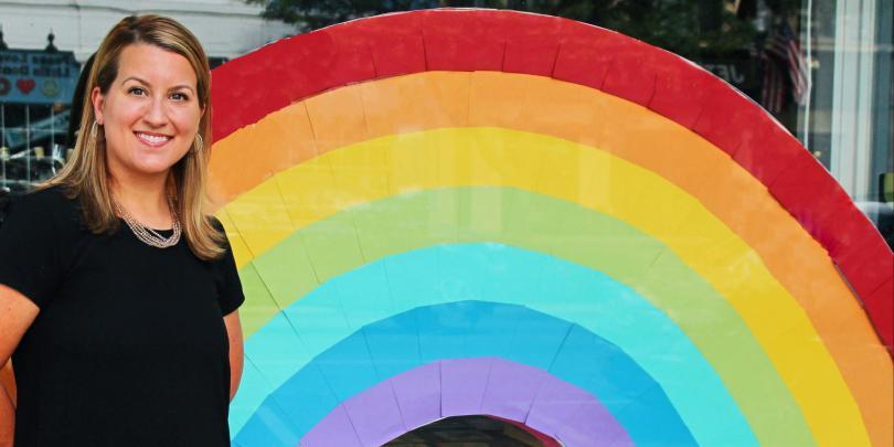 Heidi Shull Pride portrait