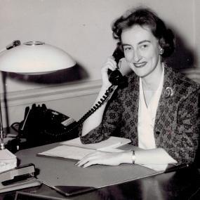 Marilyn Rogers Becker (BSBA '54)
