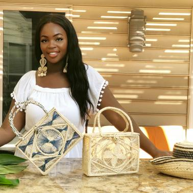 Amber Hammond with Ciela Handmade products