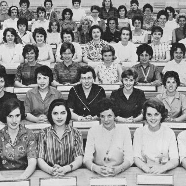 1963 Women's Student Government Association group photo