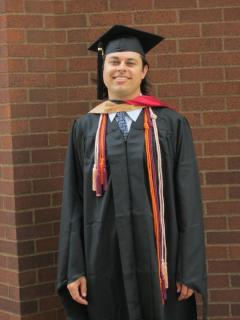 Nate DeMars graduating from Ohio State in 2011