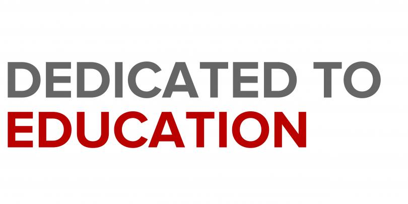 Dedicated to Education