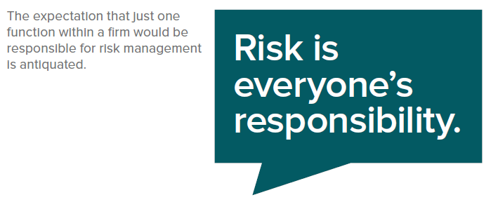 risk is everyone responsibility