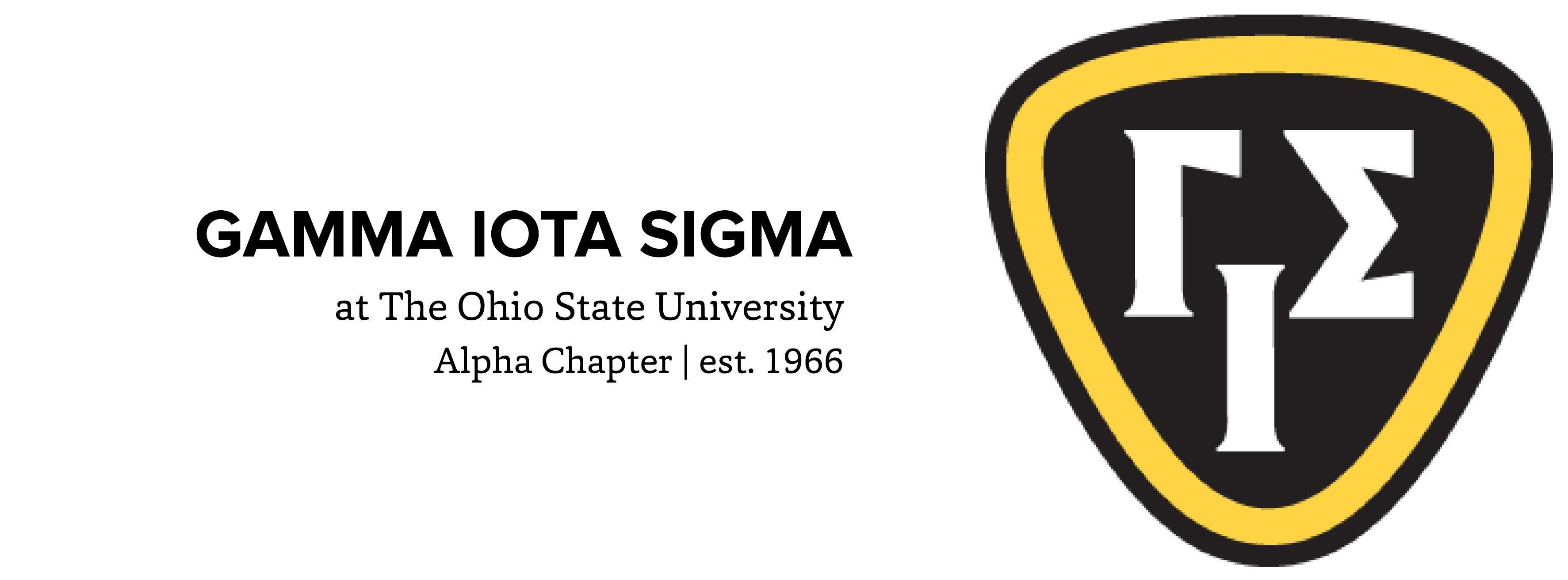 gamma iota sigma alpha chapter ohio state risk institute